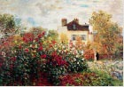 Monet - Artist's Garden at Argenteuil