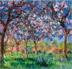 Monet - Printemps a Giverny